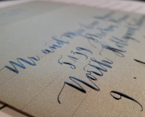 modern calligraphy Bella Grafia