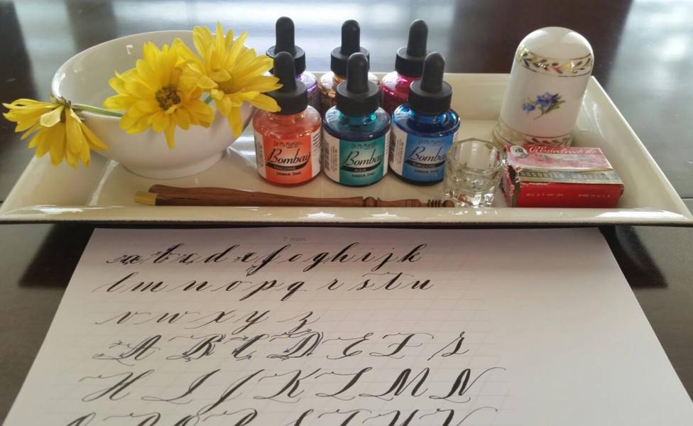 calligraphy lesson bella grafia