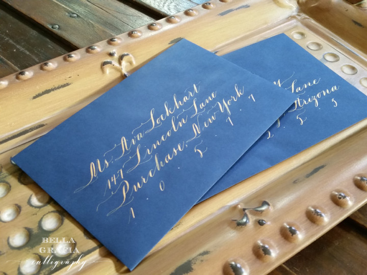 lockhart envelope - Bella Grafia calligraphy