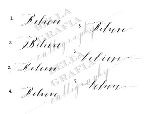 Believe - Bella Grafia Calligraphy
