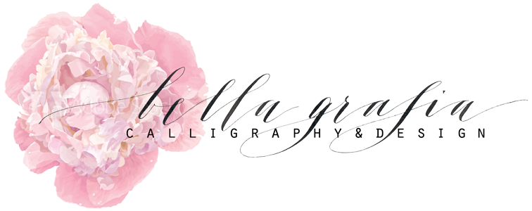 Logo Bella Grafia Calligraphy